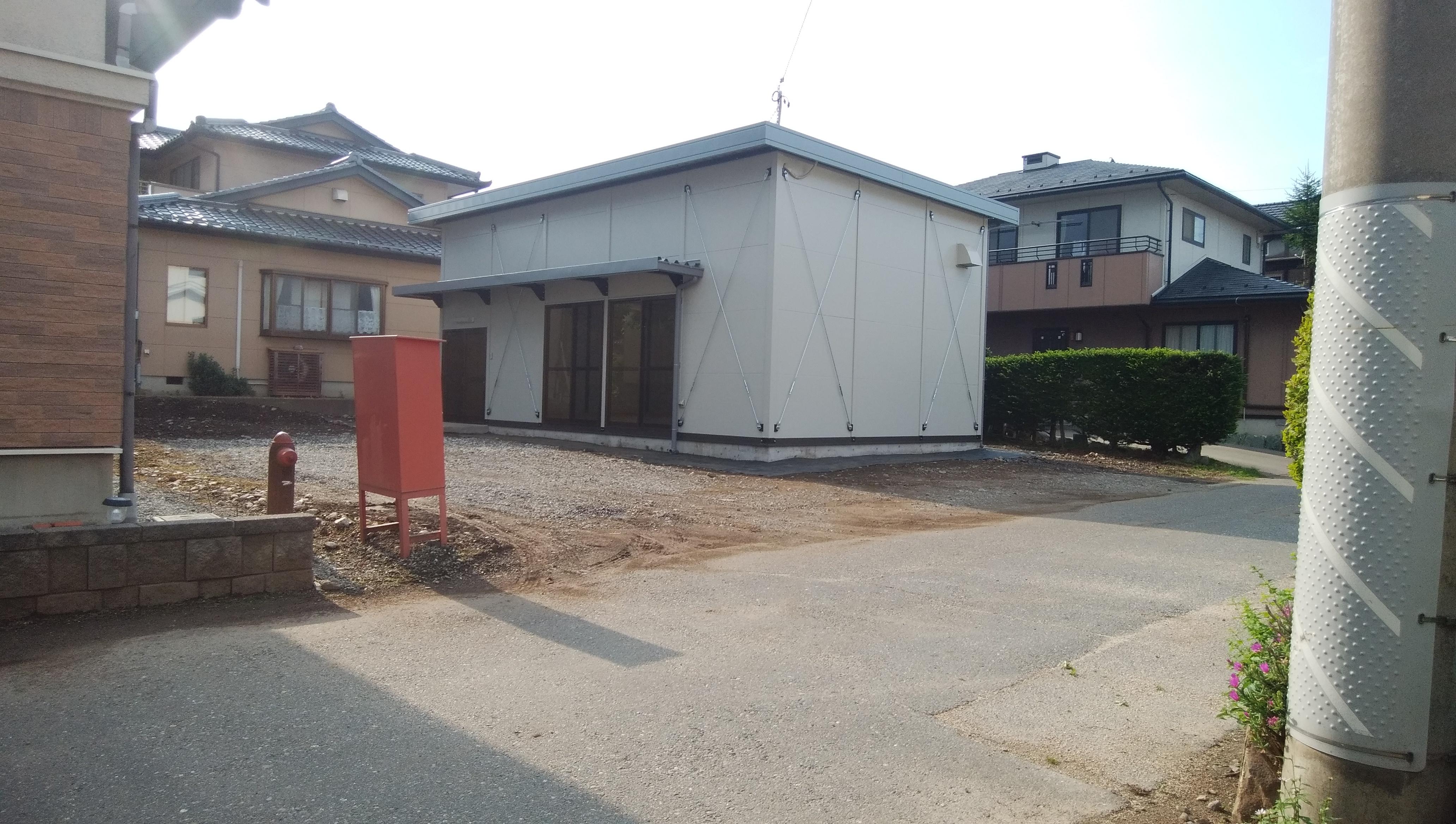道場建築工事1