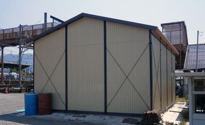 倉庫のリフォーム2